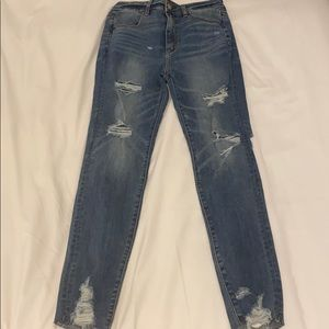 American Eagle Highest rise jegging size 6 jeans